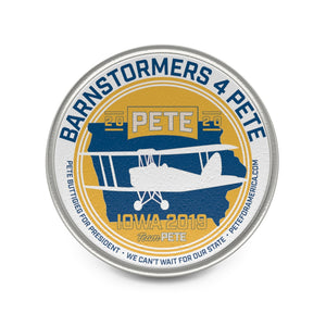 Barnstormers 4 Pete Lapel Pin - Boot Edge Edge Merch