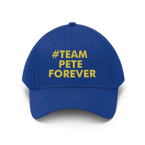 #TeamPeteForever Baseball Cap - Boot Edge Edge Merch