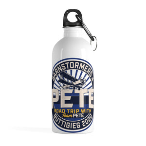 Barnstormers 4 Pete Stainless Steel Water Bottle - Boot Edge Edge Merch