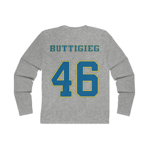 Buttigieg 46 Long Sleeve Crew Tee