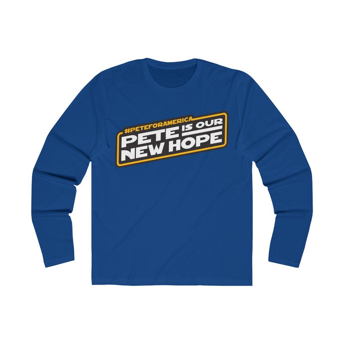 Pete Is Our New Hope Long Sleeve Crew Tee - Boot Edge Edge Merch