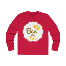 Load image into Gallery viewer, Bee Like Pete Long Sleeve Crew Tee - Boot Edge Edge Merch