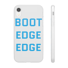 Load image into Gallery viewer, Light Blue Boot Edge Edge iPhone Case