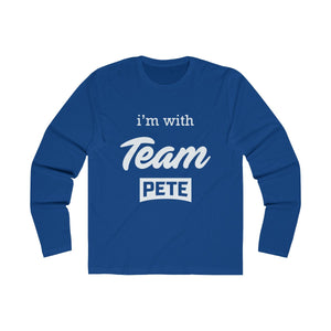 I'm with Team Pete/Rules Of The Road Long Sleeve - Boot Edge Edge Merch