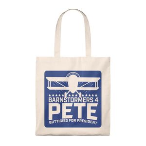 Barnstormers 4 Pete Iowa 2019 Tote - Boot Edge Edge Merch