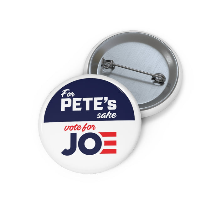 For Pete's Sake Vote For Joe Button - Boot Edge Edge Merch
