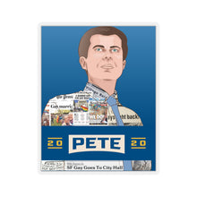 Load image into Gallery viewer, Pete Buttigieg 2020 Headline Sticker - Boot Edge Edge Merch
