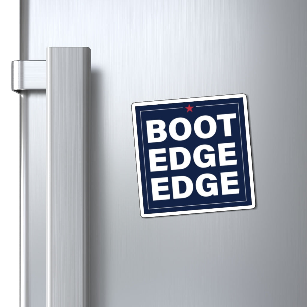 Boot Edge Edge Square Magnet - Boot Edge Edge Merch