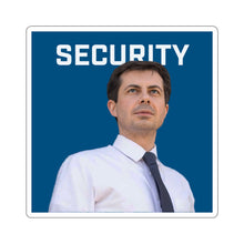 Load image into Gallery viewer, Pete Buttigieg Security Sticker - Boot Edge Edge Merch