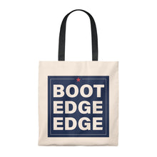 Load image into Gallery viewer, Boot Edge Edge Square Logo Tote Bag - Boot Edge Edge Merch