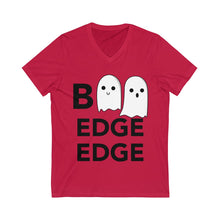 Load image into Gallery viewer, Boo Edge Edge Short Sleeve V-Neck Tee