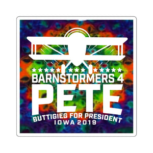 Barnstormers 4 Pete Sticker - Boot Edge Edge Merch