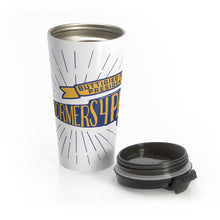Load image into Gallery viewer, Barnstormers 4 Pete Travel Mug - Boot Edge Edge Merch