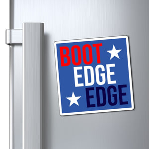 Boot Edge Edge Patriotic Magnet - Boot Edge Edge Merch