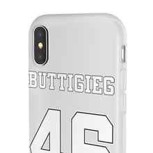 Load image into Gallery viewer, Buttigieg 46 White Logo iPhone Case