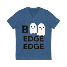 Load image into Gallery viewer, Boo Edge Edge Short Sleeve V-Neck Tee - Boot Edge Edge Merch