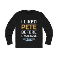 Load image into Gallery viewer, I liked Pete Before It Was Cool Long Sleeve Crew Tee - Boot Edge Edge Merch