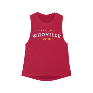 Proud Whoville Voter Tank Top - Boot Edge Edge Merch