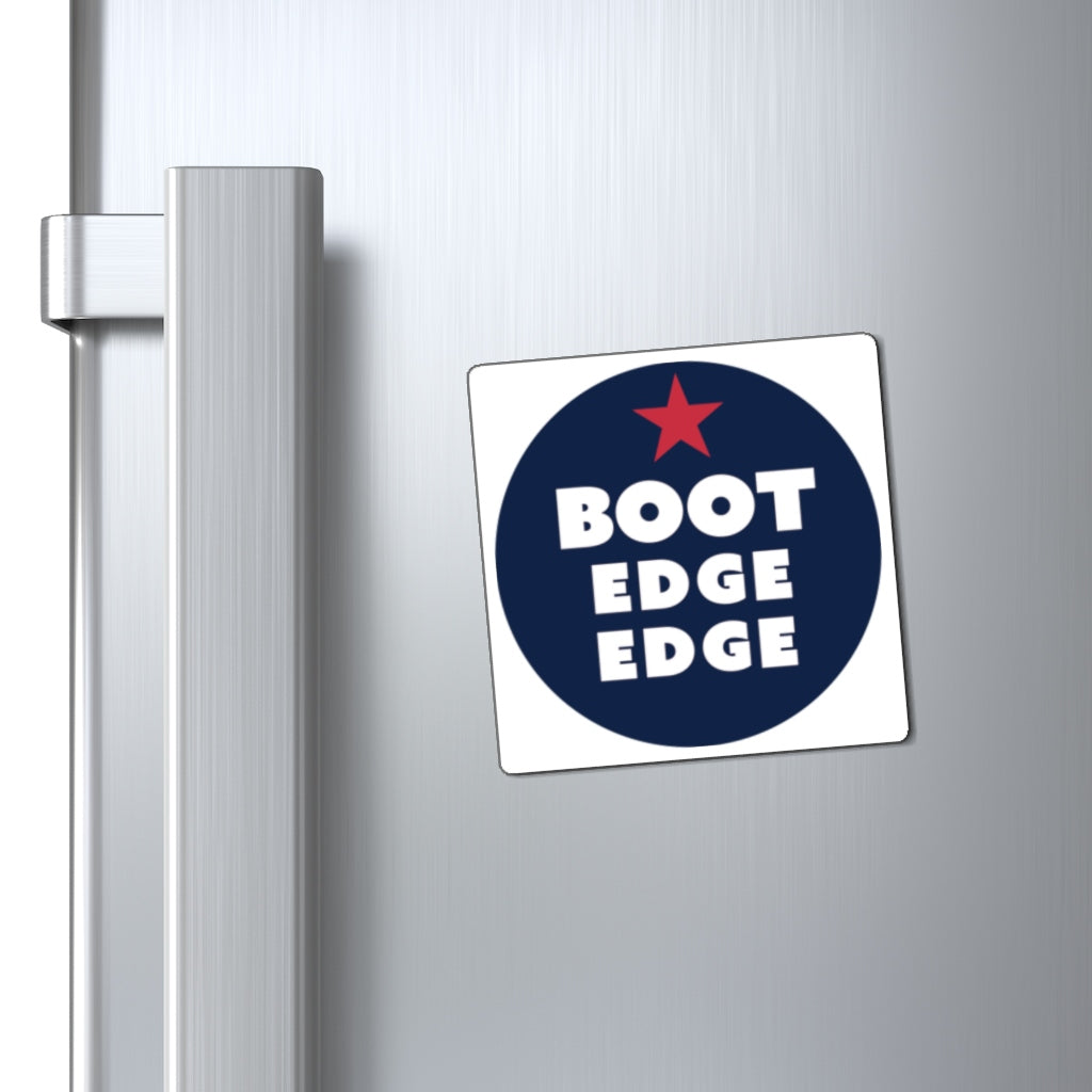 Boot Edge Edge Circle Logo Magnet - Boot Edge Edge Merch