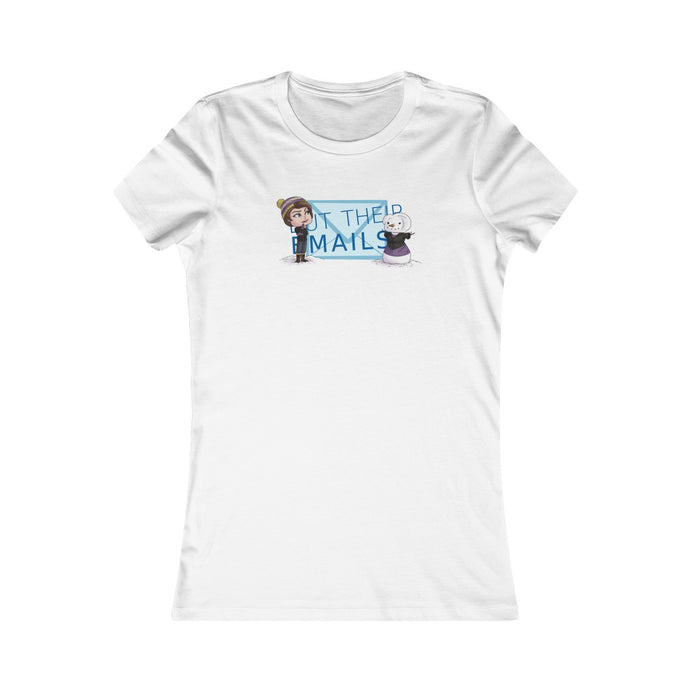 But Their Emails! Amy Women's Tee