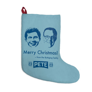 Pete and Chasten Christmas Stocking - Boot Edge Edge Merch