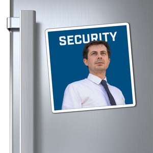 Pete Buttigieg Security Magnet - Boot Edge Edge Merch