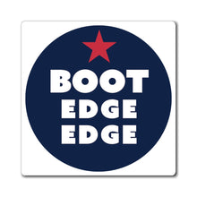 Load image into Gallery viewer, Boot Edge Edge Circle Logo Magnet - Boot Edge Edge Merch