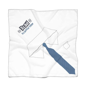 Pete 2020 Blue Tie Scarf - Boot Edge Edge Merch