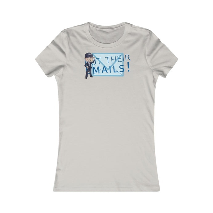 But Their Emails! Yang Womens Tee
