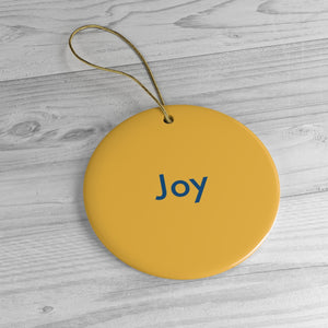 Rules Of The Road: Joy. Ornament. - Boot Edge Edge Merch