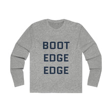 Load image into Gallery viewer, Boot Edge Edge Dark Blue Long Sleeve Crew Tee - Boot Edge Edge Merch