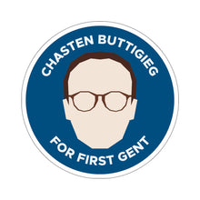 Load image into Gallery viewer, Chasten Buttigieg For First Gent Sticker - Boot Edge Edge Merch