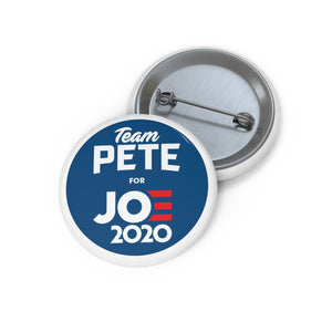 Team Pete For Joe 2020 Button - Boot Edge Edge Merch