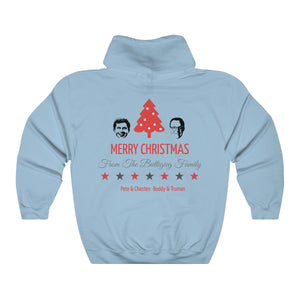 Merry Christmas From The Buttigieg Family Hoodie. - Boot Edge Edge Merch