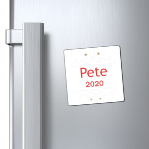 Pete 2020 Holiday Magnet. - Boot Edge Edge Merch