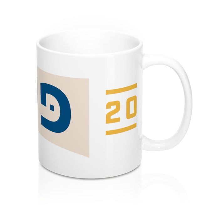 Pete 2020, Hebrew, Mug - Boot Edge Edge Merch