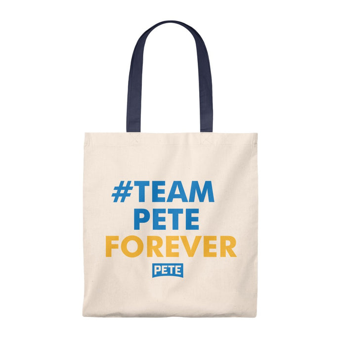 #TeamPeteForever Tote Bag - Boot Edge Edge Merch