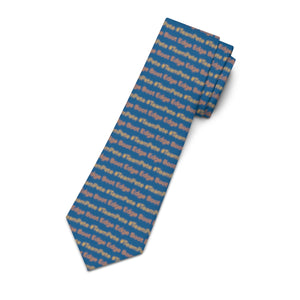 #TeamPete and Boot Edge Edge Pattern Necktie. - Boot Edge Edge Merch