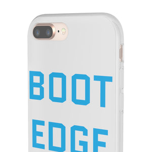 Light Blue Boot Edge Edge iPhone Case