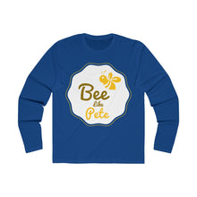 Load image into Gallery viewer, Bee Like Pete Long Sleeve Crew Tee