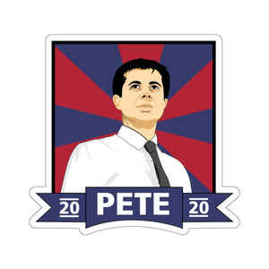 Pete 2020 Sticker - Boot Edge Edge Merch