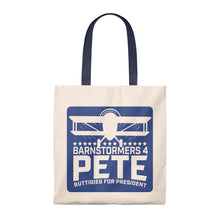Load image into Gallery viewer, Barnstormers 4 Pete Iowa 2019 Tote - Boot Edge Edge Merch