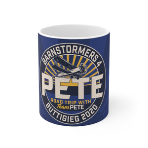 Barnstormers 4 Buttigieg 2020 Mug - Boot Edge Edge Merch