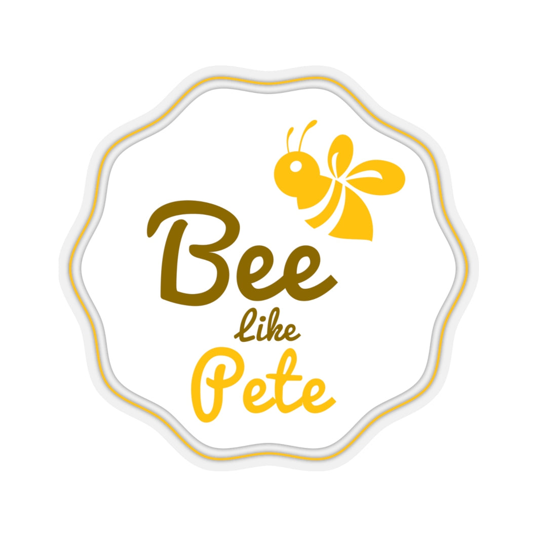 Bee Like Pete Sticker - Boot Edge Edge Merch