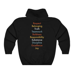 Rules Of The Road Hoodie [BACK] - Boot Edge Edge Merch