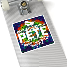 Load image into Gallery viewer, Tie Dye Barnstormers 4 Pete Sticker - Boot Edge Edge Merch