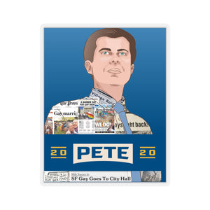 Pete Buttigieg 2020 Headline Sticker - Boot Edge Edge Merch