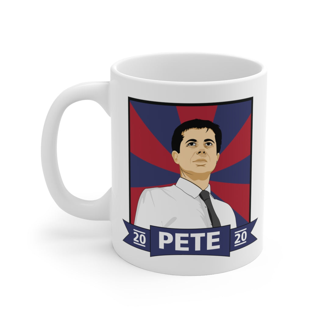 Pete 2020 Mug - Boot Edge Edge Merch