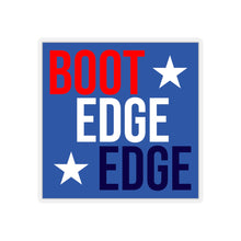 Load image into Gallery viewer, Patriotic Boot Edge Edge Sticker - Boot Edge Edge Merch