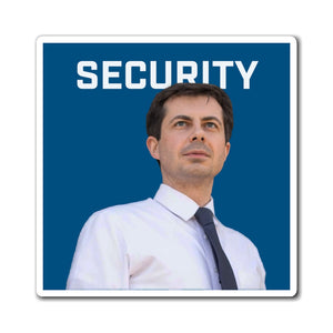 Pete Buttigieg Security Magnet